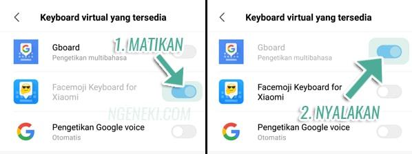 Cara Mengubah Keyboard di HP Xiaomi Menjadi Google Keyboard