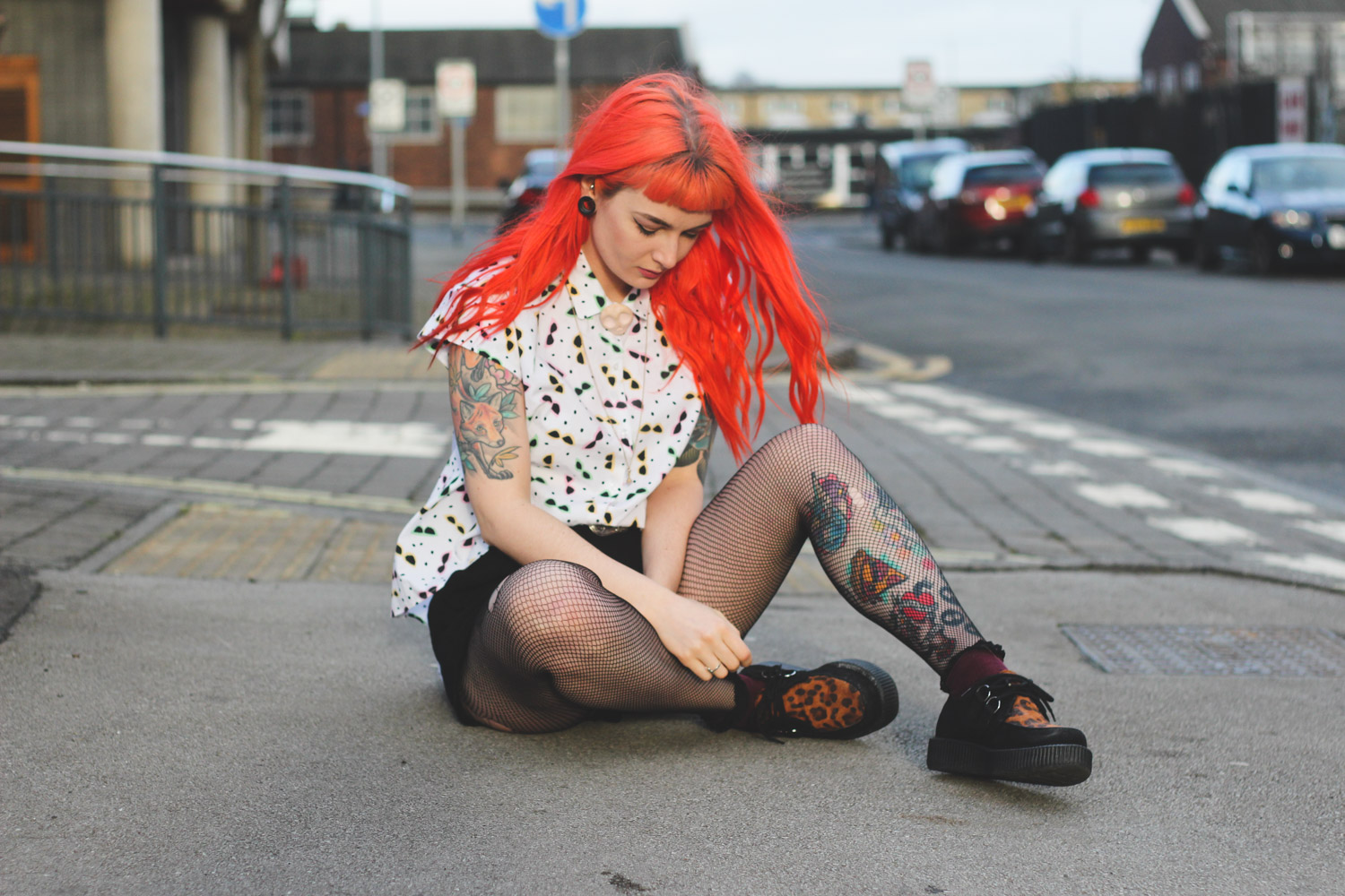 Alternative Fashion Blogger Foxxtailz in Zara