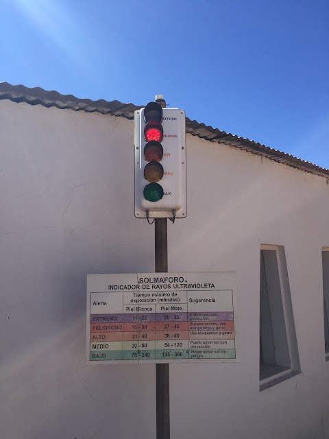Não deixe de conferir o solmáforo de San Pedro de Atacama