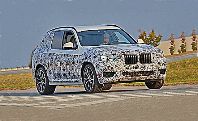 2018 BMW X3 Shows More Skin In Latest Spy Shots