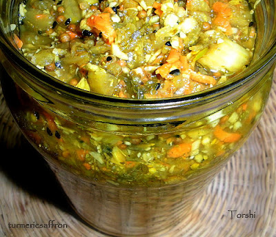 Torshi Makhloot- Persian Pickled Vegetables