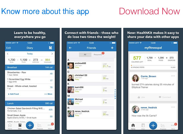 Download Calorie Counter and Diet Tracker by MyFitnessPal for iOS