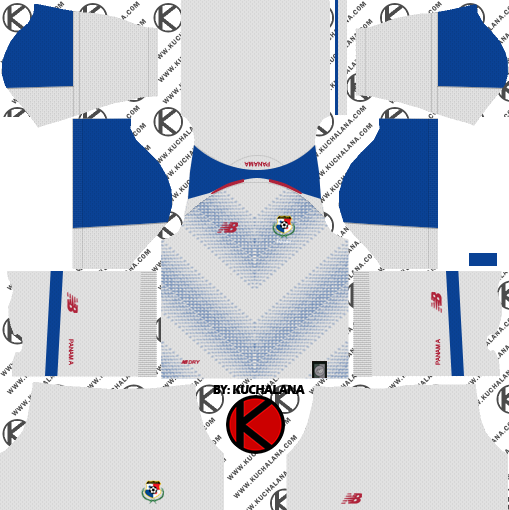 e6e5343b81c Panama 2018 World Cup Kit - Dream League Soccer Kits - Kuchalana