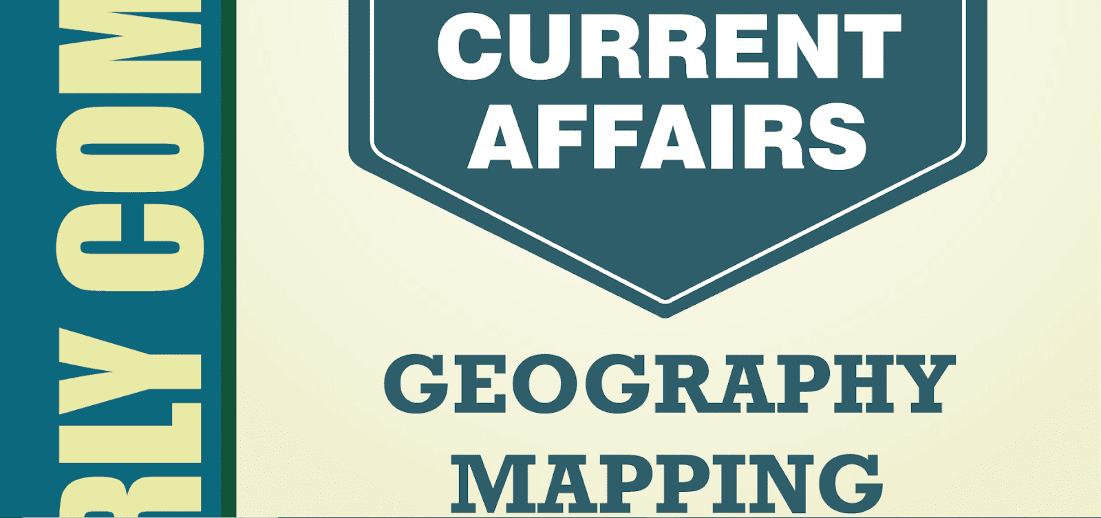Current Affairs Geography 2020