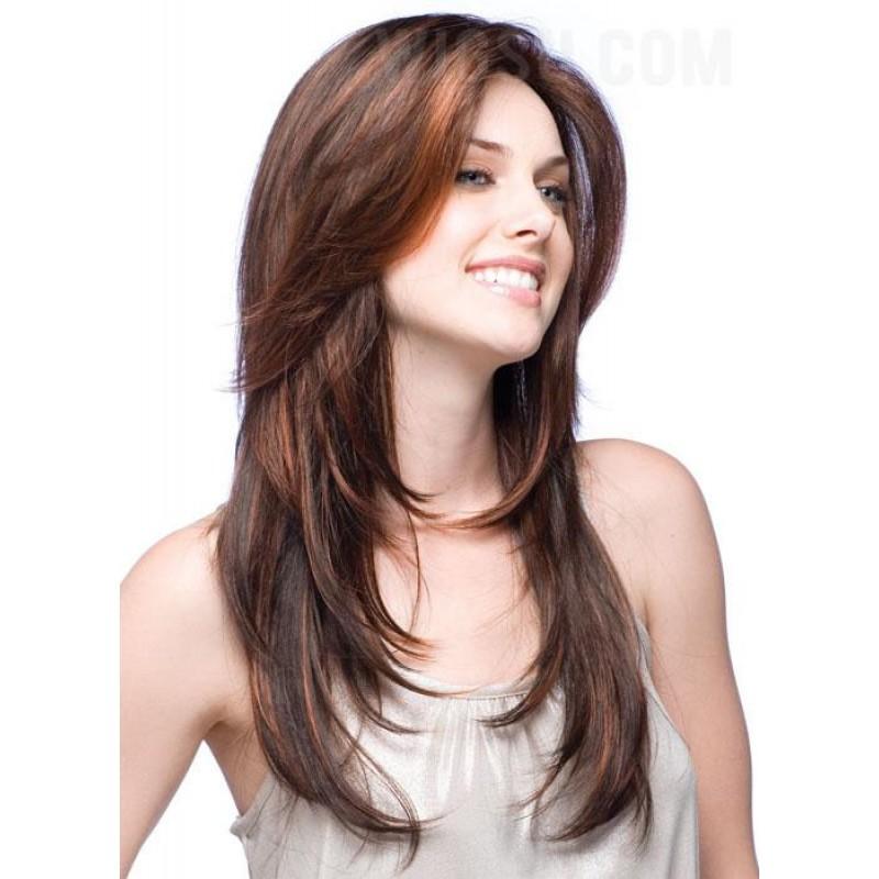 Haarschnitt fur mittellanges glattes haar