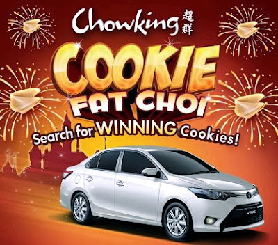 Ended Win A Toyota Vios From Chowking My Mission Win