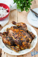 Kurczak pieczony w całości w rękawie