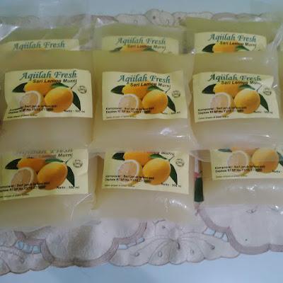 minuman sehat jeruk lemon
