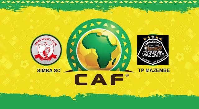 Simba Kuivaa TP Mazembe Robo Fainali Ligi ya Mabingwa Afrika