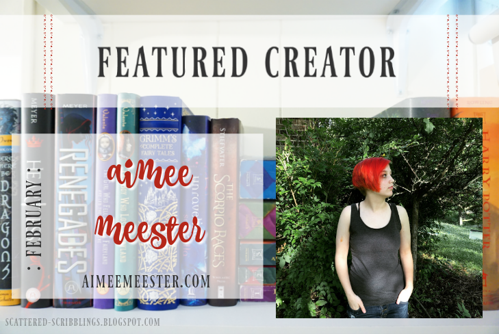 Featured Author - February // AIMEE MEESTER
