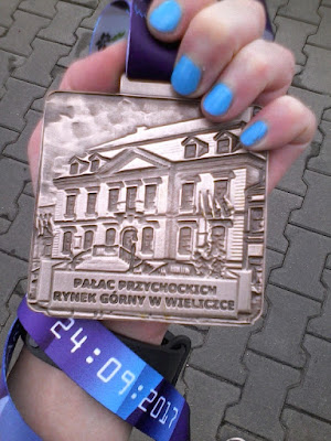IV Półmaraton Wielicki - medal