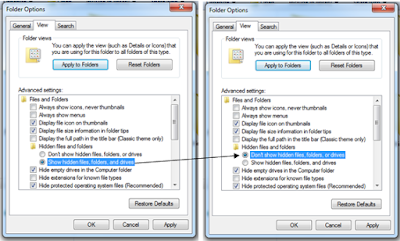 Cara Mengembalikan File Yang Terhidden (Tersembunyi)