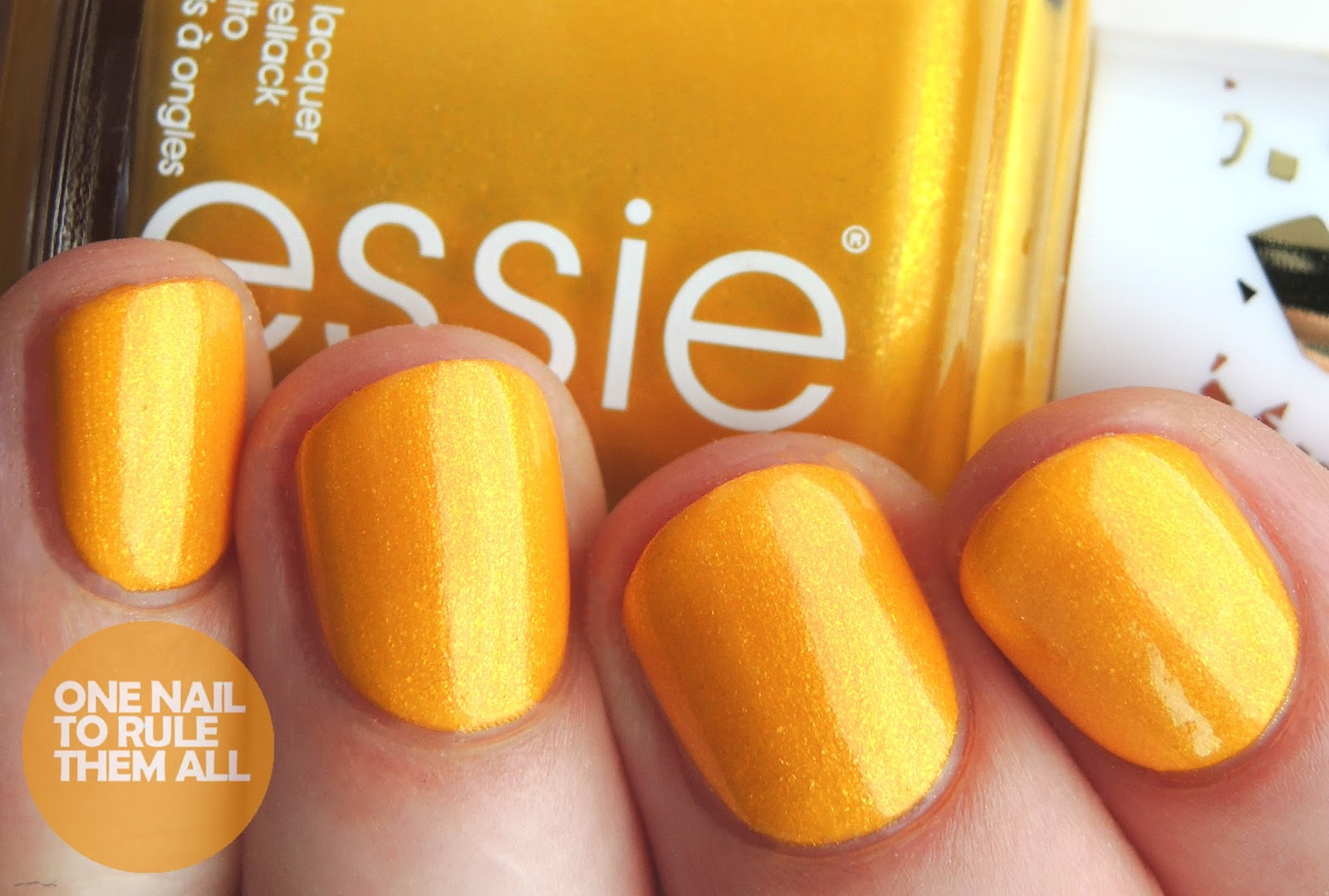 Essie 1000th Shade - Aim To Misbehave Nail Art + Review | One Nail ...