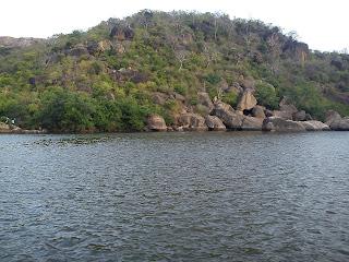 papanasam reservoir near tenkasi, ambasamudram