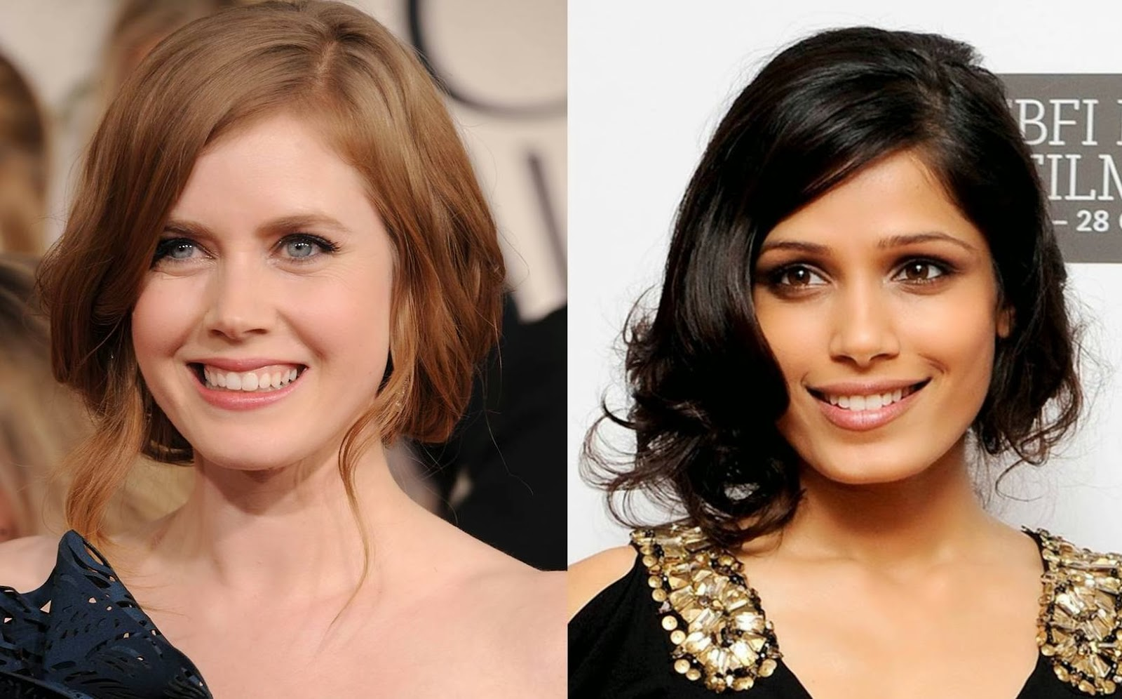 Amy Adams e Freida Pinto