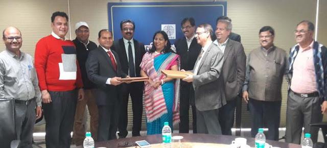 Signature of Faridabad Municipal Corporation signed with Power Grid Company
