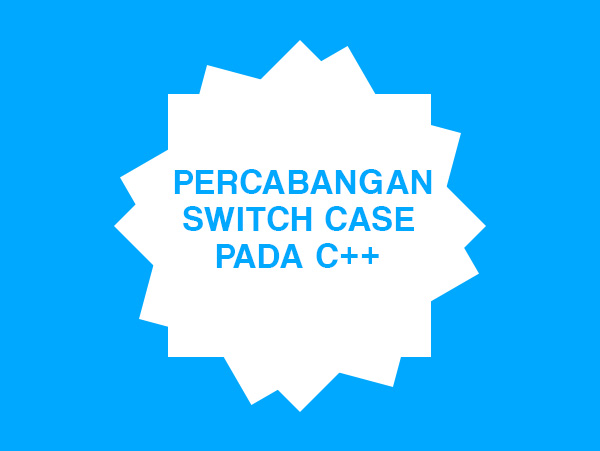 statement switch case di c++