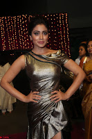 Shreya Saran in Skin Tight Golden Gown ~  Exclusive 031.JPG
