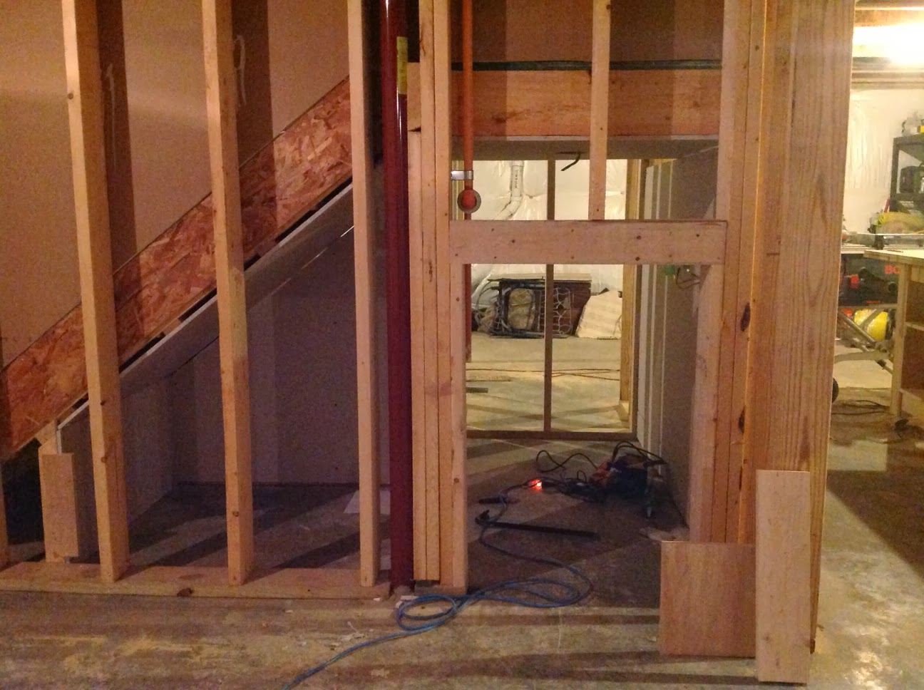 Lighting Basement Washroom Stairs: Right Up My Alley: Under The Stairs Play Area Reveal