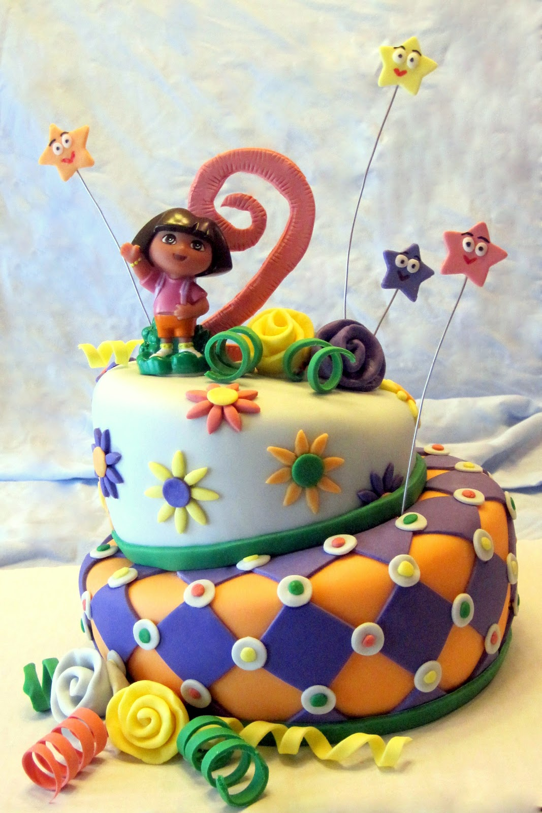 Pin Pooh And Friends Birthday Cake Similar Design To The Dora Cake