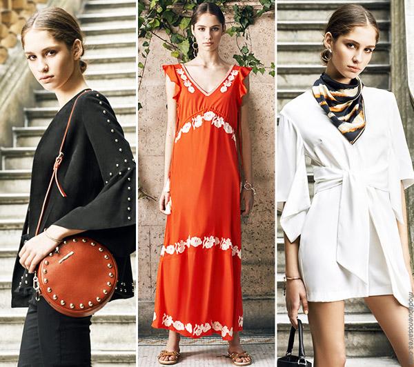 Moda primavera verano 2019 ropa de mujer. Uma primavera verano 2019. │ Moda 2019.