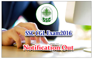 Staff Selection Commission Combined Graduate Level (CGL) Examination, 2016