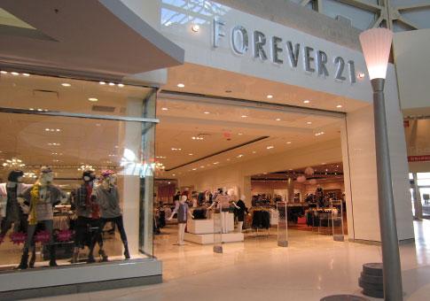 Forever 21 de departamentos en Dolphin Mall