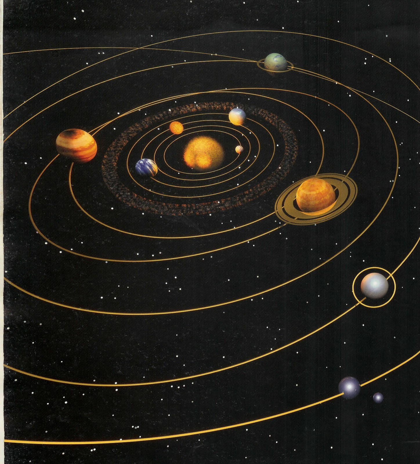 current orbit of inner planets - photo #33
