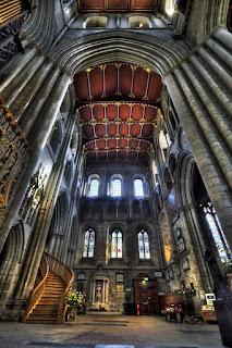 Рипон кафедральный собор XII-го века