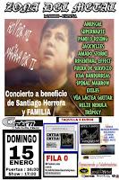 Concierto benéfico por Santiago Herrera