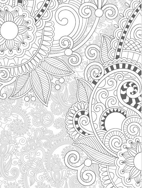 More Free Printable Adult Coloring Pages