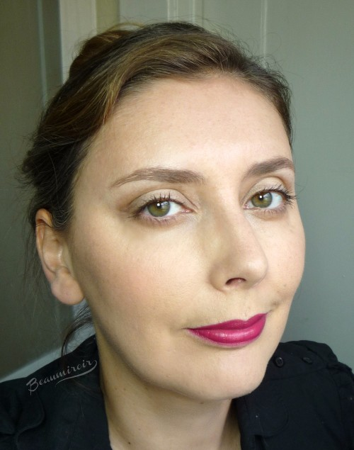 fotd motd with Givenchy Le Rouge lipstick in Framboise Velours