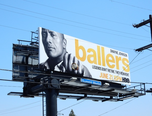 Ballers series premiere billboard