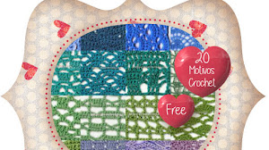 20 Patrones de Puntos Crochet Calados