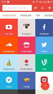 كيفية تحميل الفيديو والصور من اليوتيوب والفيس بوك والإنستقرام على الأندرويد