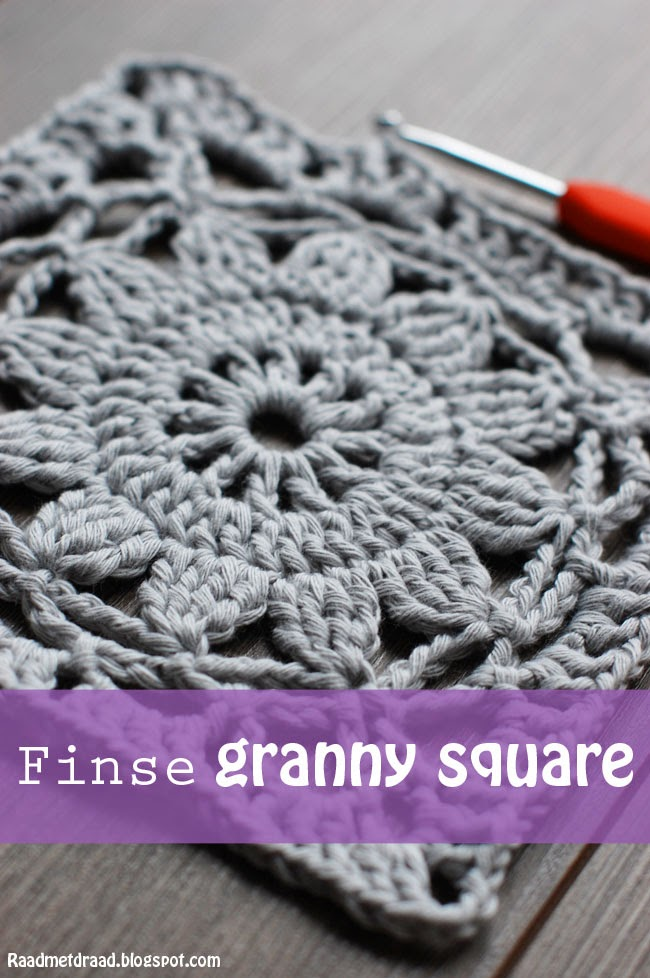 Raad Met Draad Haakpatroon Finse Granny Square
