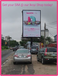 Ntel pick up centre in Lagos