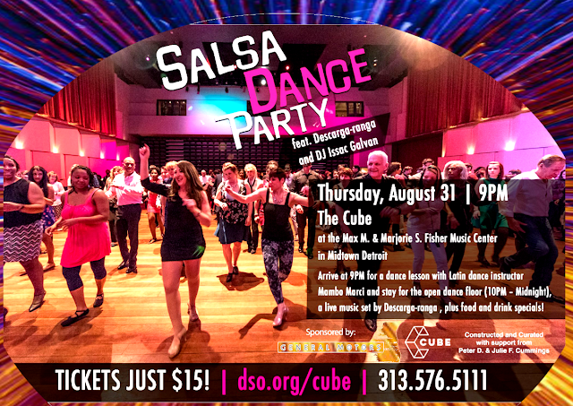 Salsa Dance Party – Max M. and Marjorie S. Fisher Music Center -  Mambo Marci - newspaper -