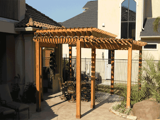 Custom Backyard Shade Arbors DFW 4