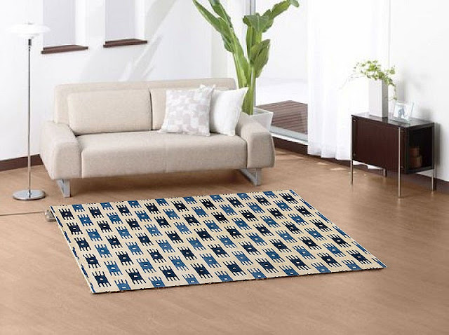 Modern Area Rugs with Simple and Minimalist Style