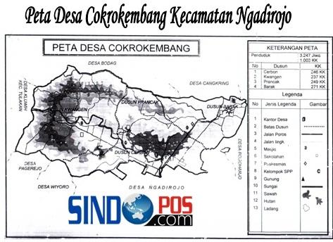 Profil Desa & Kelurahan, Desa Cokrokembang Kecamatan Ngadirojo Kabupaten Pacitan
