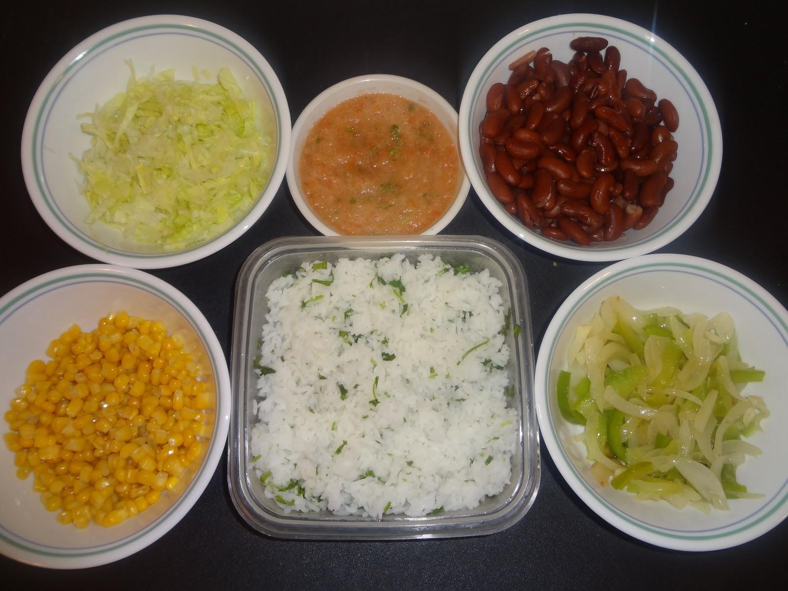How to make veg burritos at home