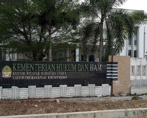 Alamat Telepon Unit Layanan Paspor Imigrasi Medan - Sumatera Utara