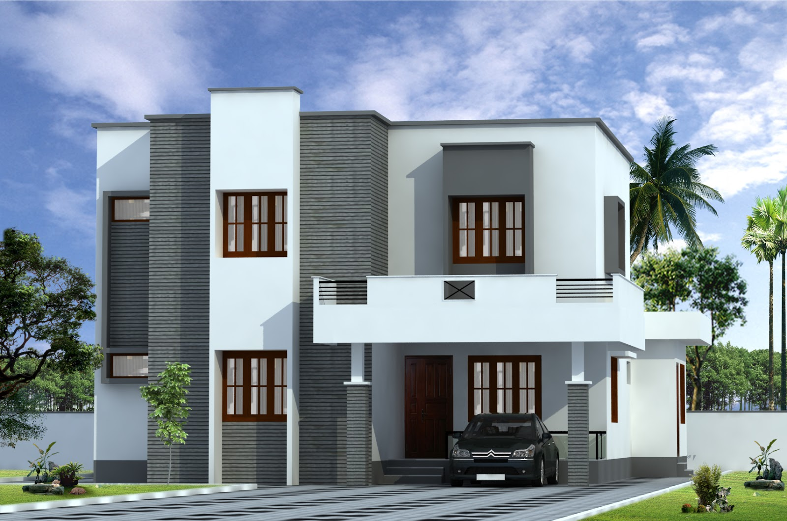 Build a building house designs for House building front design