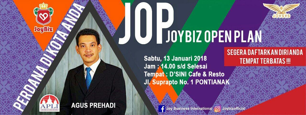 Presentasi JOP Perdana Joybiz di Pontianak
