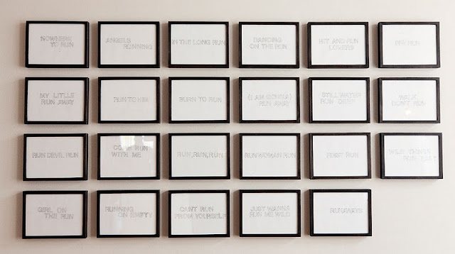 DIY Home: Simple Picture Frame Wall art | A Pair & A Spare