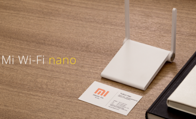 Mi Wifi Nano - Roteador Xiaomi