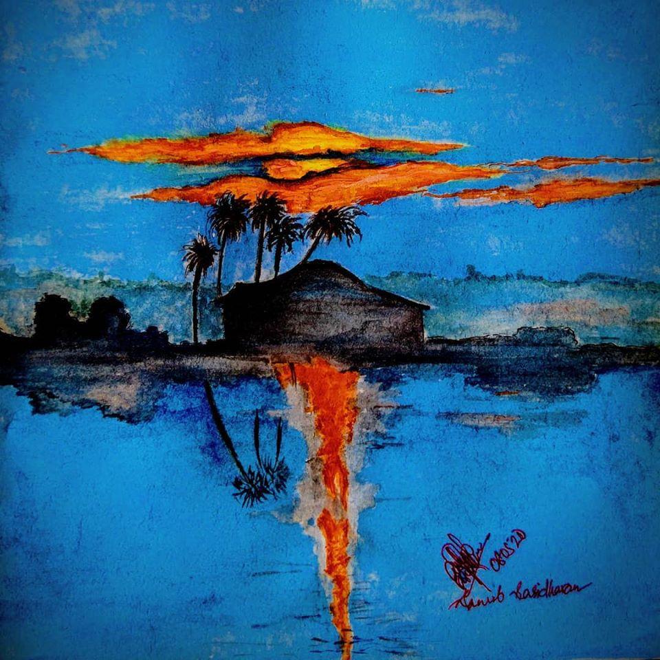 gLEAM water painting