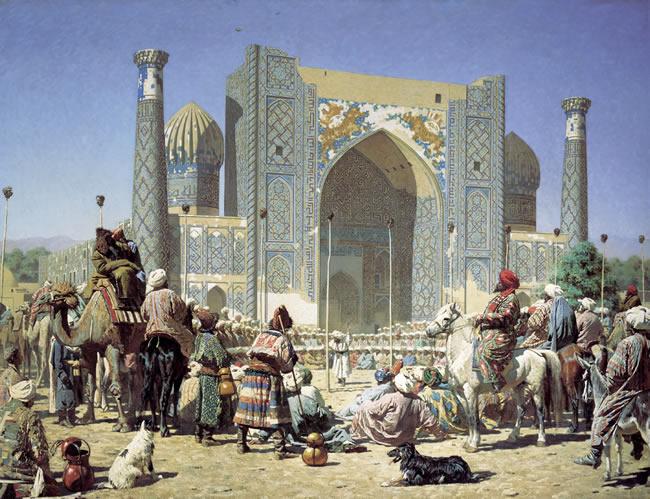 Samarkand in Timurlane era