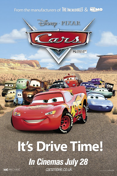 Poster of Cars 2006 Dual Audio [Hindi-English] 720p BluRay ESubs Download
